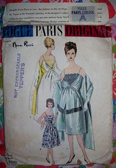 Vogue Paris Original 1499 Nina Ricci