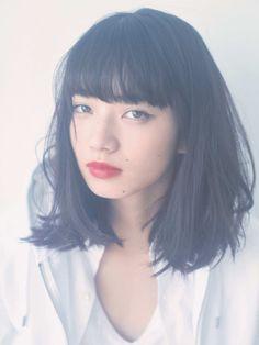 Hair inspo• Nana Komatsu Japanese Models, Japanese Girl, Nana Komatsu Fashion, Medium Hair Styles, Short Hair Styles, Komatsu Nana, Grunge Hair, Girls In Love, Ulzzang Girl
