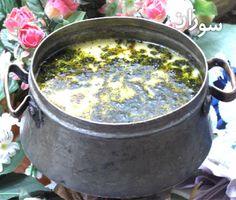 طرز تهیه ی آبگوشـت كشـك (غذای محلی شهر اراك)