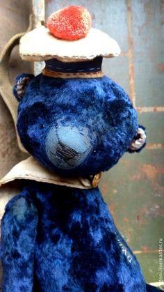 Мишки Тедди ручной работы: BRAVE CAPTAIN. Handmade.