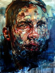 """Saatchi Online Artist: Andrew Salgado; Oil, 2011, Painting """"I Wish That I Had Known About His Hammer Heart"""""""