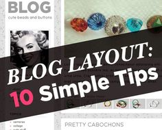 10 Blog Layout Tips - A Beautiful Mess : for those days when I'm feeling like a blog makeover