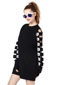 Lazy Oaf Armless Sweatshirt