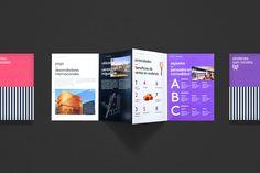Andenes real estate branding, by Anagrama Brochure Layout, Brochure Design, Flyer Design, Layout Design, Editorial Layout, Editorial Design, Editorial Board, Brand Identity Design, Design Agency