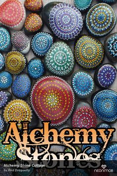 Alchemy Stone Collage by Red Dragonfly (reddragonfly), from the Series Alchemy Stone Alphabet, on NeonMob Stone Art, Sacred Geometry, Alchemy, Beautiful Words, Mystic, Alphabet, Meditation, Finding Yourself, Stones