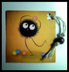 Dust spirit bookmark, tag Crafting, Spirit, Frame, Table, Home Decor, Picture Frame, Craft, Artesanato, A Frame