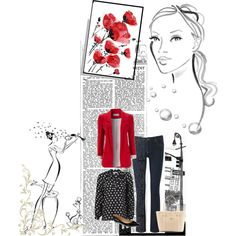 """""""Red Weekend"""" by bacvictoria on Polyvore"""