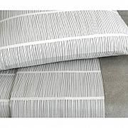 Pins Grey, Grey, King Duvet Cover by Area Bedding - Lekker Home