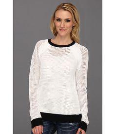 MICHAEL Michael Kors Mesh Longsleeve Colorblocked Sweater