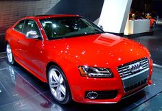 if I get an #Audi then I would be supporting #FCBayern in the process.♥ ::: Red Audi S5  -My first car in Malaysia and Japan-