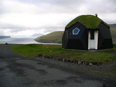 Igloo Cottage at Kvivik, Faroe Islands