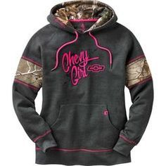 Come on ladies, show the guys you're into trucks too! You'll love the perfect weight of this cotton/poly blend hoodie featuring Realtree® Xtra Camo accents and contrast stitching. Finished with a Legendary® embroidery and Signature Buck woven label.
