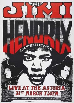 Jimi Hendrix Experience - old poster Poster Tour Posters, Band Posters, Event Posters, Jimi Hendrix Poster, Concert Rock, Psychedelic Music, Psychedelic Posters, Jimi Hendrix Experience, Pochette Album