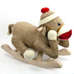 Rocking Sock Monkey http://shop.crackerbarrel.com/Rocking-Sock-Monkey/dp/B00A7B3748