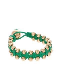 kelly green beaded braclet