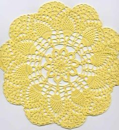 this is the crochet pattern that my granny used to make. It was all she knew how to crochet. Can't wait to make a few like hers! More