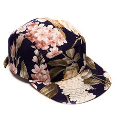MOUPIA Floral 5 Panel Hat