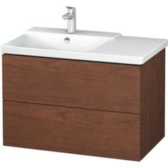 Duravit L-Cube Wood Vanity Cabinet Only - Less Vanity Top American Walnut Fixture Vanity Cabinet Single Loft Bathroom, Budget Bathroom, Bathroom Renovations, Bathrooms, Wood Vanity, Vanity Cabinet, Vanity Units, Bathroom Furniture Design, Duravit