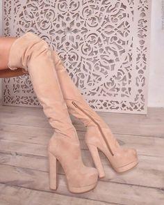 Yarose Shulzhenko suede over the knee boots