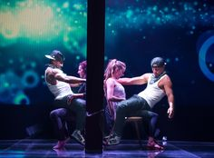 Twitch & Channing Tatum from Magic Mike XXL Movie Pics