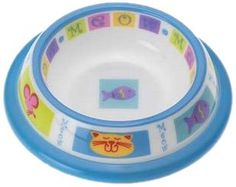 Petrageous Designs Kitty Parade 4.25' Shallow Plastic Pet Bowl -- Special cat product just for you. See it now! : Cat items