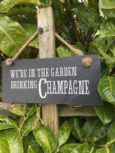 "I like this.....but I'd change it to ""We're in the Garden, drinking pink lemondade"" ! Two of my grandma's favorite things!"