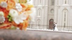 Salt Lake Temple - Kaylie & Branton Pre-wedding Film by Spencer Hale | Giant Brothers. www.giantbrothers.com Salt Lake Temple, Wedding Film, Wedding Videos, Films, Movies, Movie Quotes, Movie