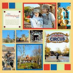 Fantasyland - mosaic moments page pattern 82