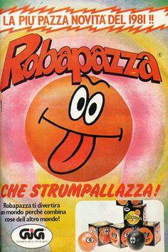 """La palla """"Robapazza"""", anno 1981"""
