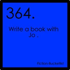 My Fiction Bucket List
