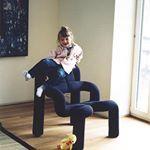 The iconic Ekstrem chair pt. II 〰 #icon #scandinaviandesign #terjeekstrøm #lifestyle #interiordesign