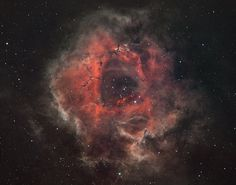 Rosette Nebula from Red Zone
