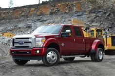 2015 Ford F Series Trucks | 2015 Ford F 450 Super Duty Platinum Front Three Quarter Static