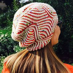 "beezee by Katrin Schubert. Free on Ravelry. ""Easy"" brioche pattern, reversible!"