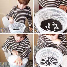 DIY Salad Spinner Spider Web Art | Hellobee