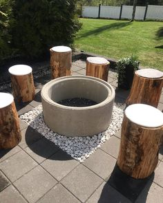 Outdoor Barbeque, Outdoor Fire, Outdoor Decor, Betula Pendula, Backyard Creations, Garden Design Plans, Garden Yard Ideas, Fire Pit Backyard, Outdoor Projects