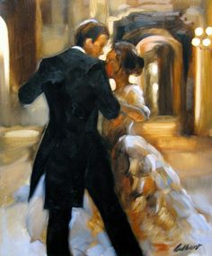 Study For Last Dance 2 Painting by Stuart Gilbert - Study For Last Dance 2 Fine Art Prints and Posters for Sale