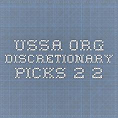 ussa.org - Discretionary picks 2.2
