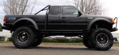 Ford Ranger- suspension lift mud tires, sits nice Off Road Wheel Package