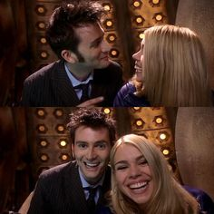 The Doctor and Rose :D