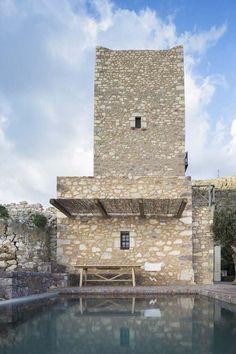 Greek tower - Tainaron Blue Retreat