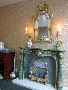 Interior of Victorian Inn- First Bedroom