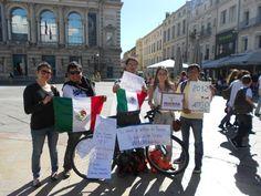Montpellier en apoyo a AMLO