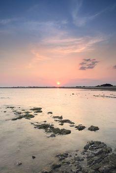sunset on Ile-de-re, France  Source: emporoslight