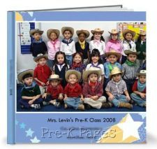 How to Make a Quick and Easy Class Yearbook Using an Online Photo Site #preschool #kindergarten #DIY #tutorial #howto