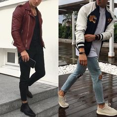 Left or right? Follow @mensfashion_guide for more! By @ozanfit #mensfashion_guide #mensguides