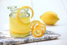 Leftover Lemon Peels