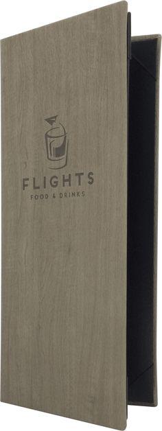 Flights Food & Drinks - 397742 Menu Cover by Menu Designs.