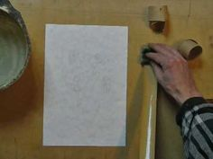 How to prepare paper for watercolor painting
