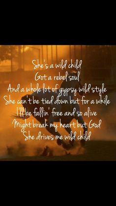"""""""Wild Child"""" - Kenny Chesney"""